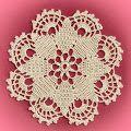 Simple Crochet Doily Pattern Free