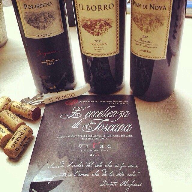 """Il Borro #wines at """"L'eccellenza di Toscana"""" - #ilborroexperience #ilborrowinelovers"""