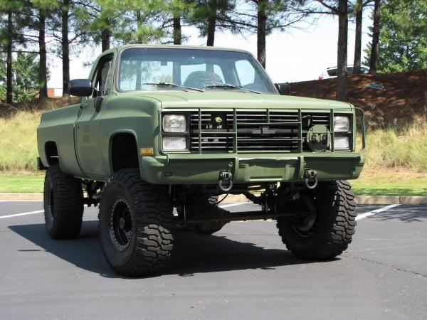 Chevrolet M1028 Cucv K30 Military Truck 4 4 Chevy Trucks