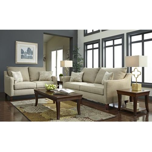 Woodhaven 2 piece new heights collection furniture - Woodhaven living room furniture collection ...