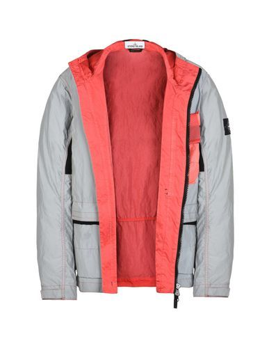 0ebf47869e83c6 Mid-length jacket 453S6 GARMENT DYED PLATED REFLECTIVE WITH MUSSOLA GOMMATA STONE  ISLAND - 5