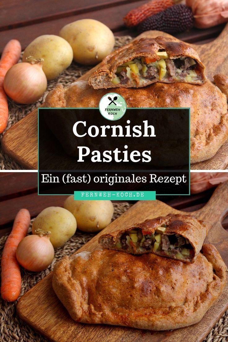 Cornish Pasty - Ein (fast) originales Rezept