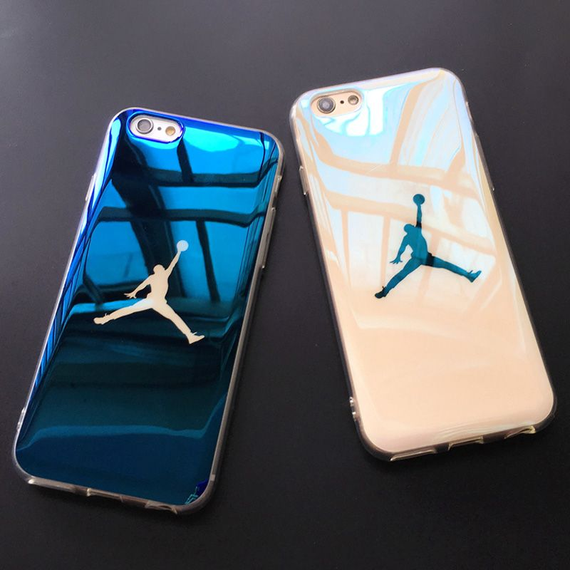 aa295e65fdb97b Luxury Blu-ray laser Ultra Thin Michael Jordan NBA 23 TPU Soft Case For  iphone 7 Plus 6 6s 6 Plus Case Back Cover Fundas Coque
