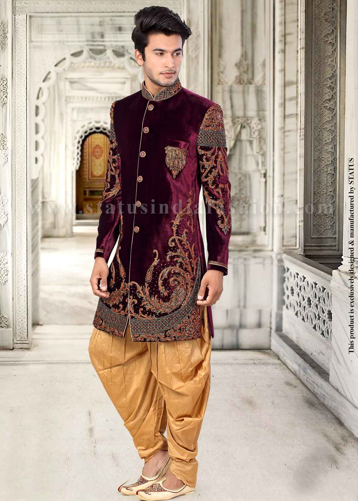 Sherwani Indian Wedding Wear Groom Sherwani Best