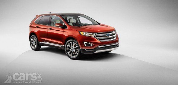 New Ford Edge Suv Revealed And It S Heading For The Uk New