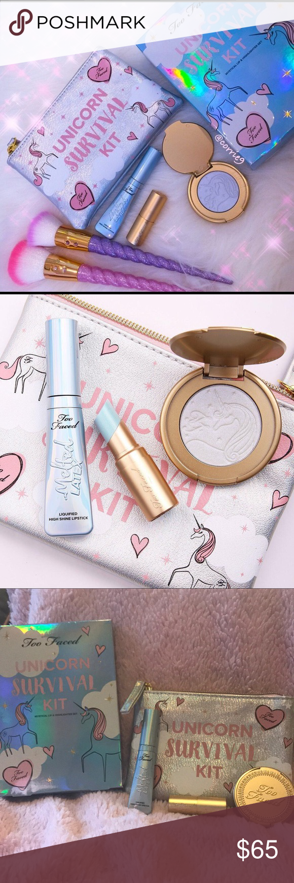 Too Faced UNICORN SURVIVAL KIT 🦄AUTHENTIC, BNIB 🌟🌟LIMITED