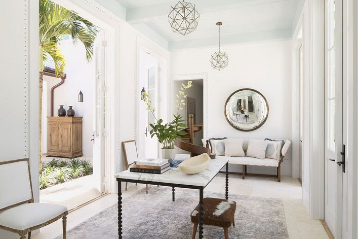 Mix and Chic   Ceilings   Pinterest   Designers, Entrance foyer and ...