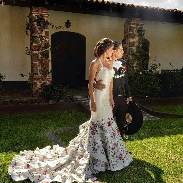 Ala Mexicana En 2019 Vestidos De Novia Mexicanos Vestidos