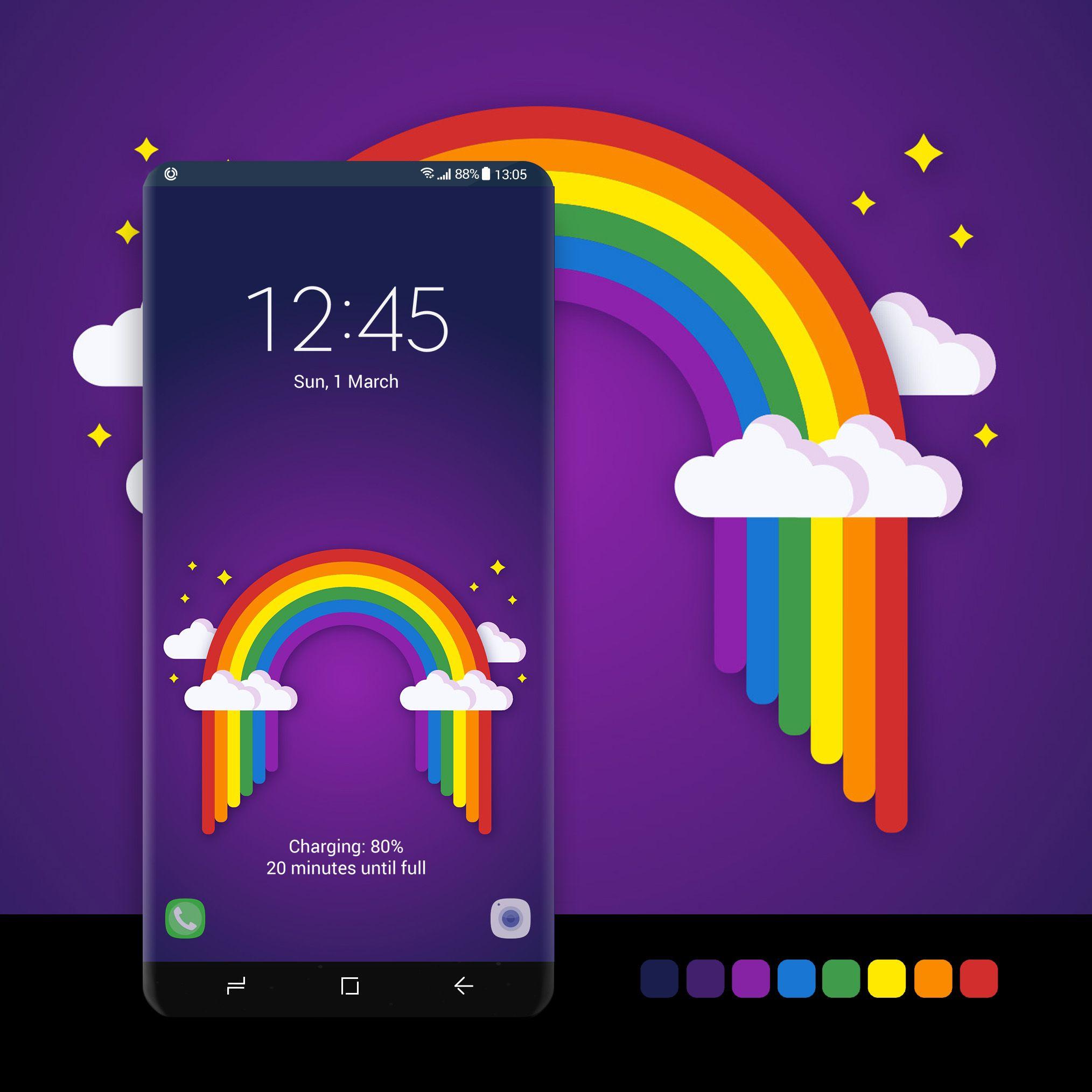 Rainbow Arch Samsung Galaxy Wallpaper Galaxy Galaxy Wallpaper
