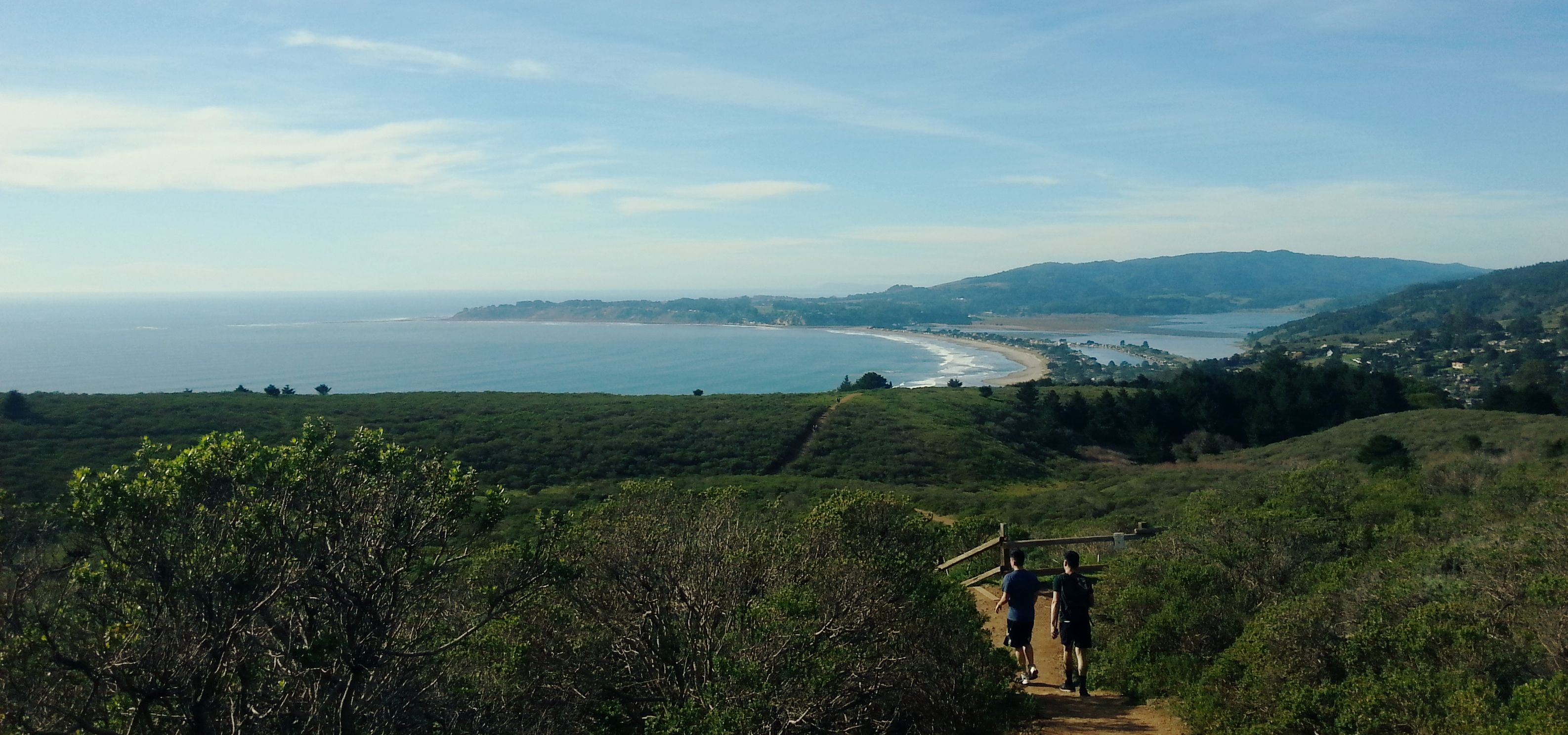 Almost At Stinson Beach From Muir Woods
