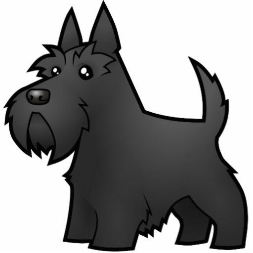 Scottish Terrier Drawing Clip Art Dog Drawing Tutorial Scottie Dog