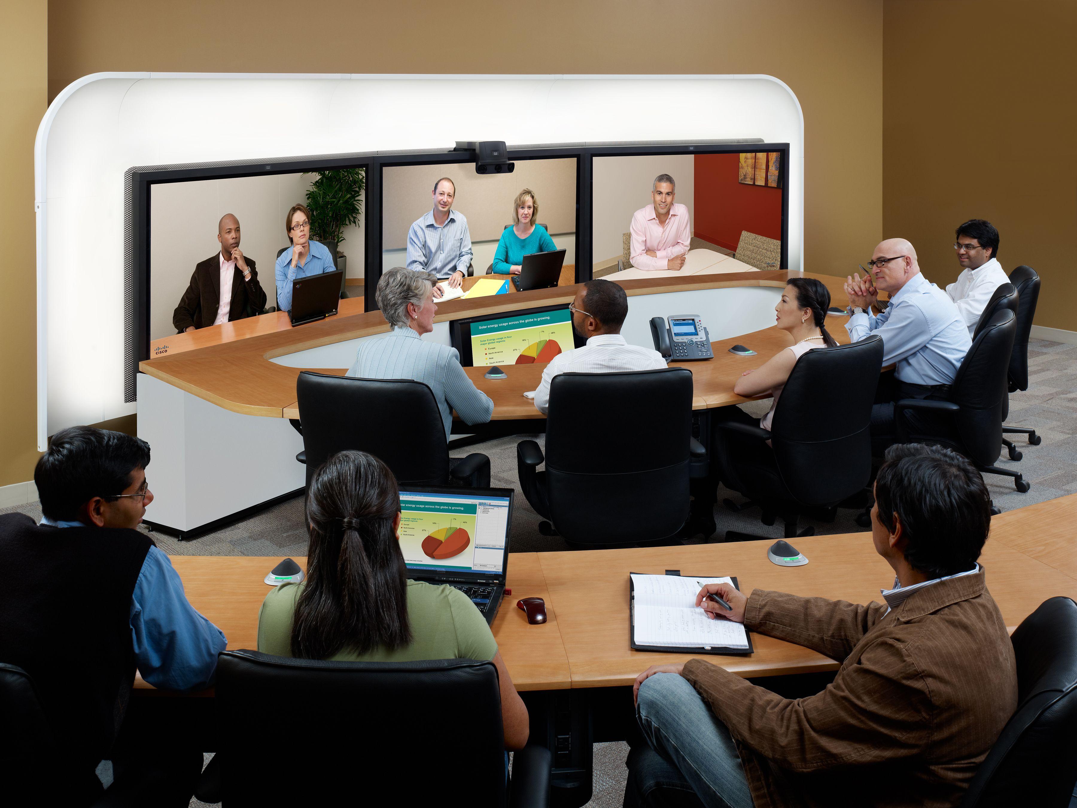 Tele-presence; Cisco CTS 3000 series 2