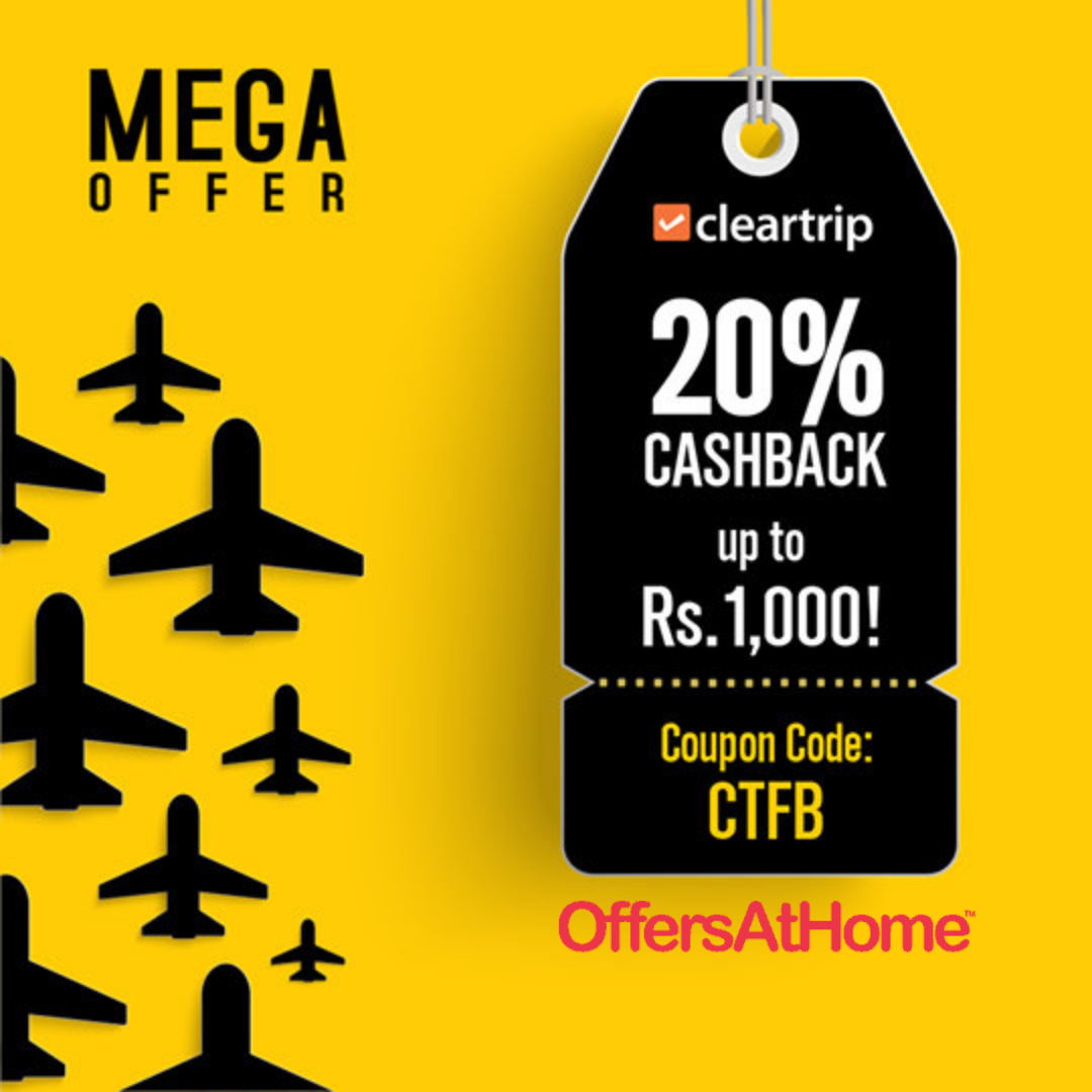 Cleartrip Coupons Cleartrip, Vacation plan, Airline fares
