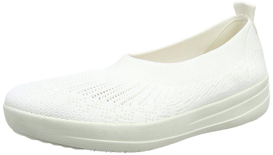 fitflop uberknit white