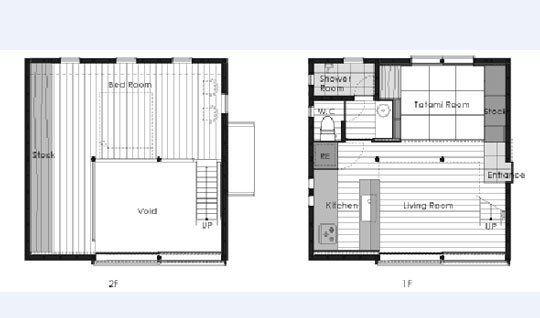9tubohouse By Makoto Masuzawa Small House Plans House House Plans