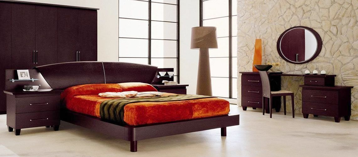 Miss Italia - Composition 05 - Italian Platform Bed Group Products - Italian Bedroom Sets