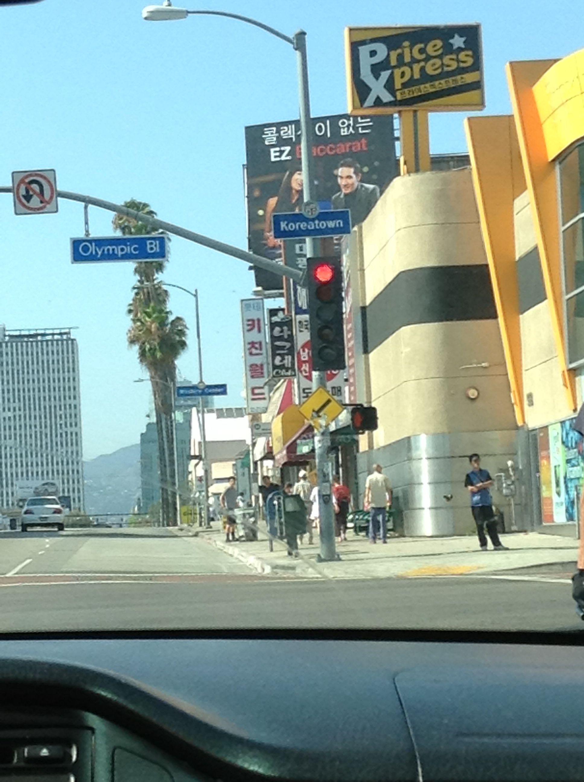 Koreatown La California La California Koreatown California
