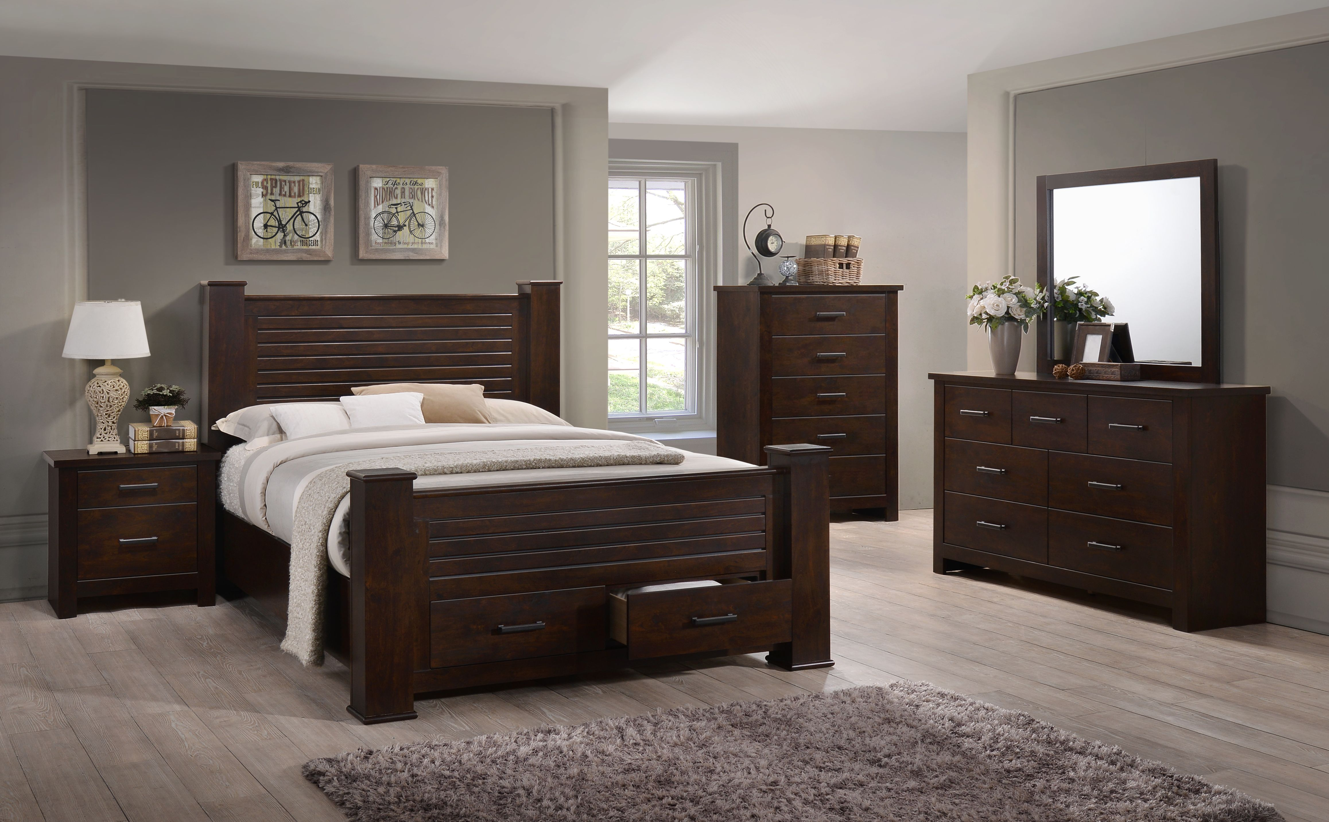 Palmore Storage Post Bedroom Collection Bedroom Furniture Sets
