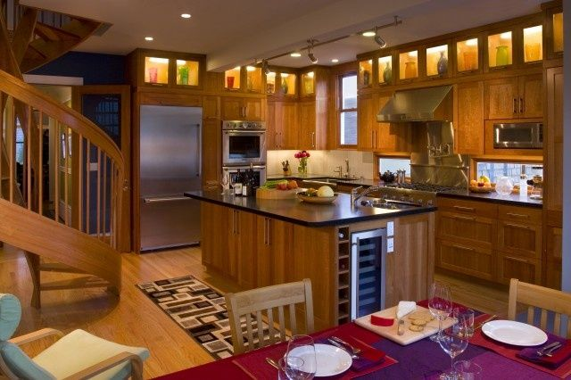 fill space above kitchen cabinets | cool idea for using ...