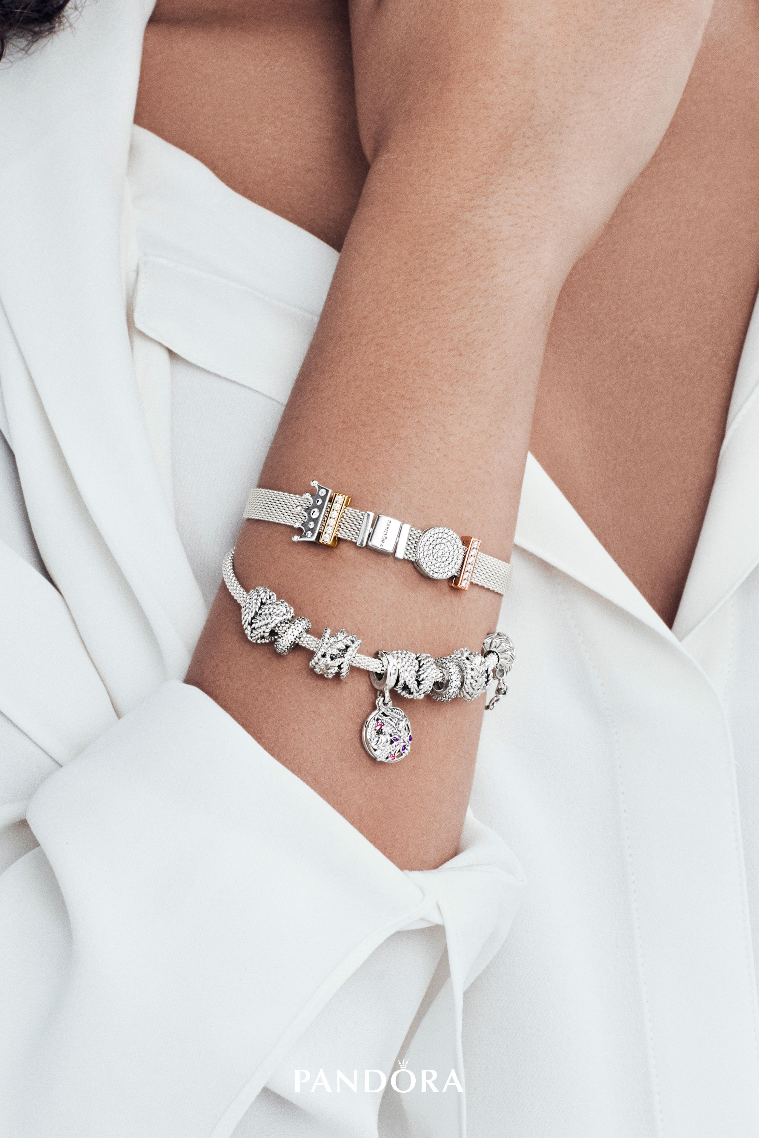 dff383b71 Create unique looks that reflect your personal style with our new # PANDORAReflexions collection of bracelets