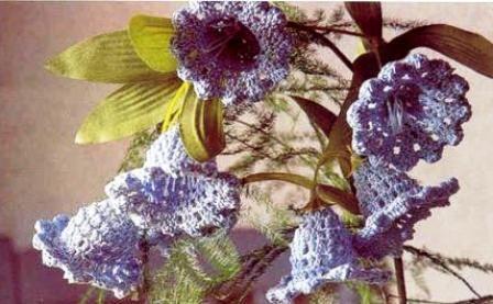 Pin de andrea saavedra en FLORES | Pinterest | Flores tejidas ...