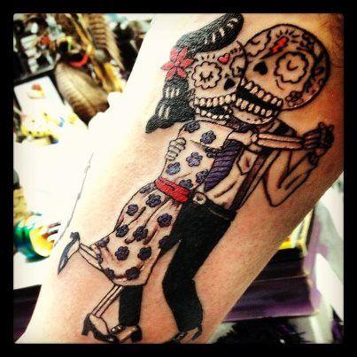 Left Arm Or Right Leg Tattoos Pinterest Tattoos Couple