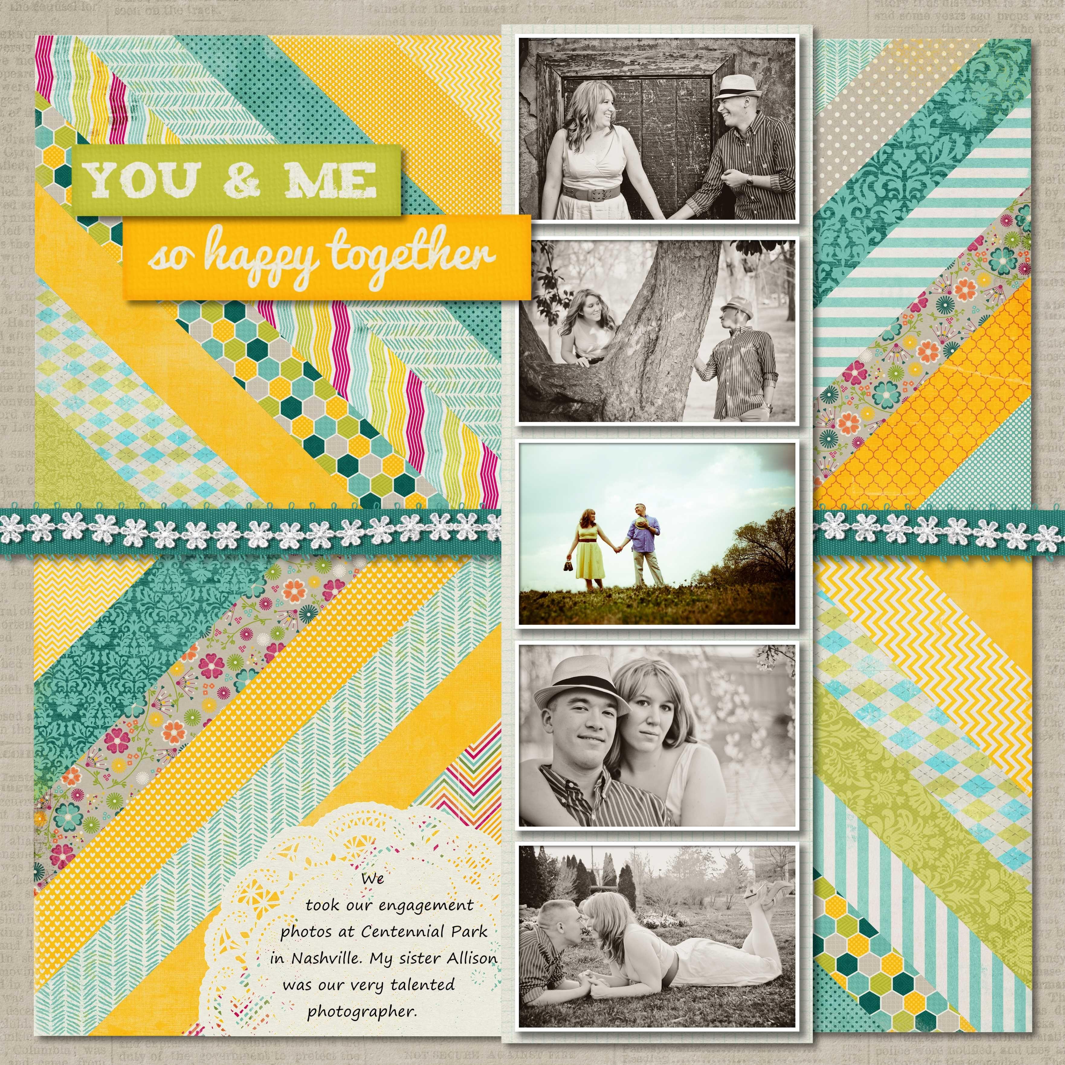 Scrapbook Ideas So Happy Together Album Ideas Scrapping