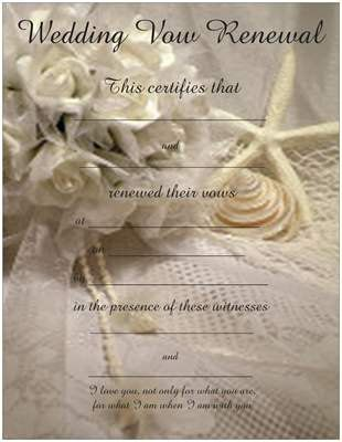 Vow renewal certificate with starfish shells bouquet 900 via vow renewal certificate with starfish shells bouquet 900 via etsy yadclub Gallery