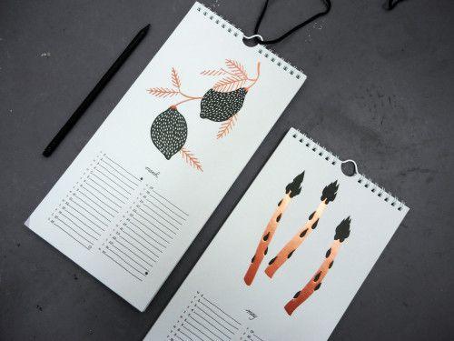 Karolin Schnoor 2014 calendar + prints #karolin #schnoor #artwork #art #calendar #2014 #2014calendar #produce #print #cactus #karolinschnoor