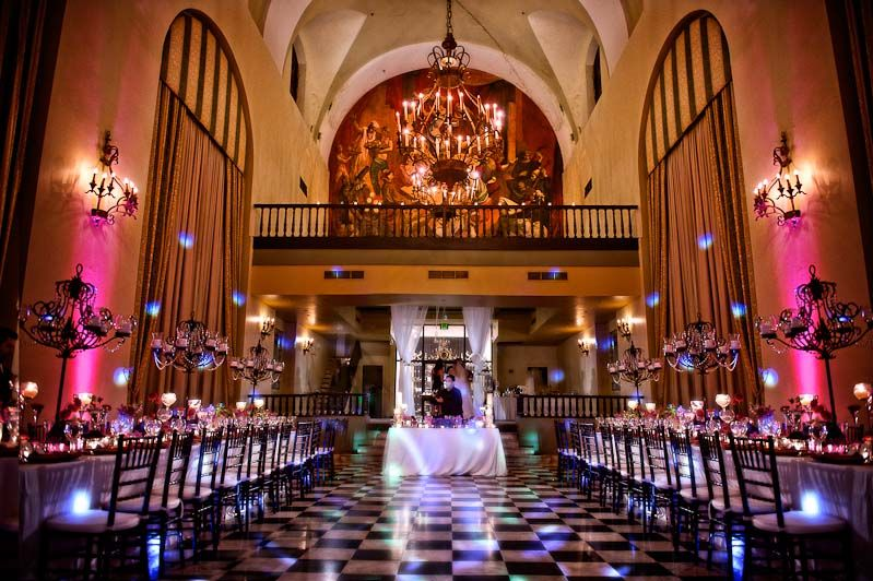 Wedding Locations Decoration At Hotel El Convento San Juan Puerto Rico