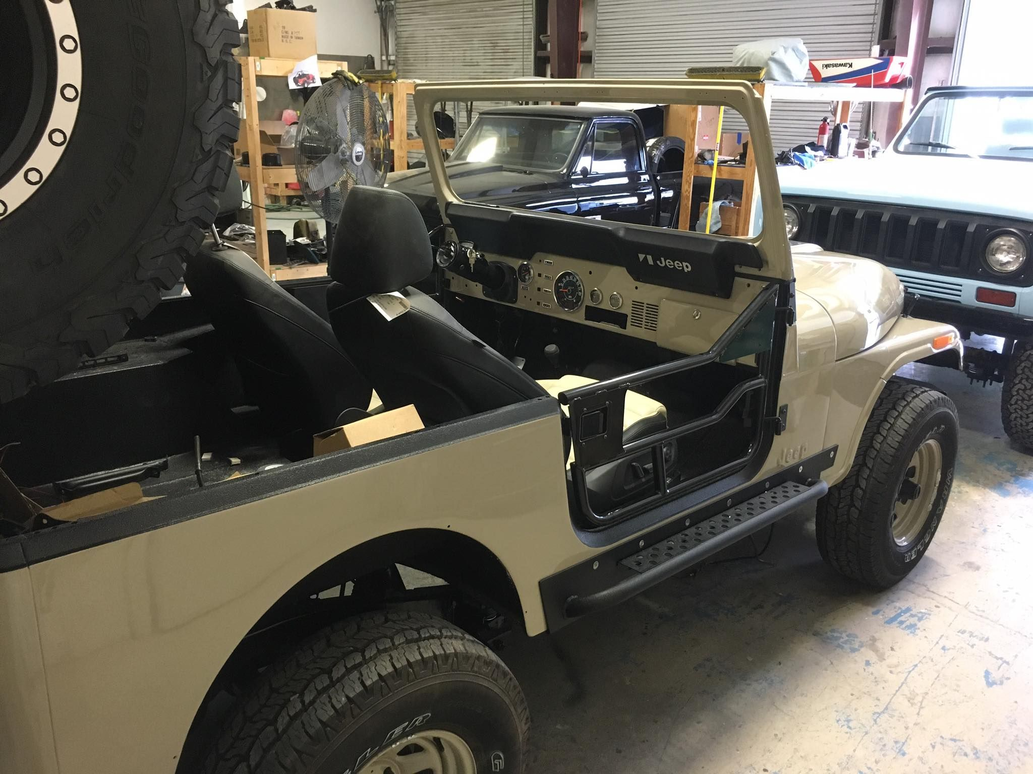 new side rocker tube doors wheels and rims & new side rocker tube doors wheels and rims | Jeep CJ7 - FOR SALE ...