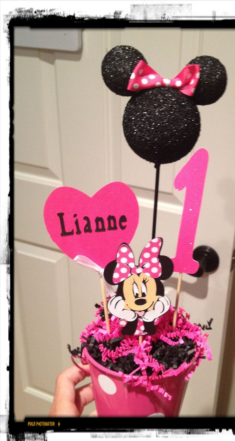 minnie mouse decoration personalized by eryacah on etsy munchkin