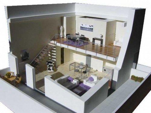 loft modernos y economicos Buscar con Google casas cubo y