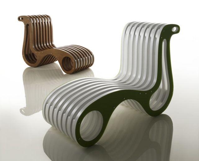Designer Sessel Ergonomisch Entworfen Platzsparende Möbel Ideen