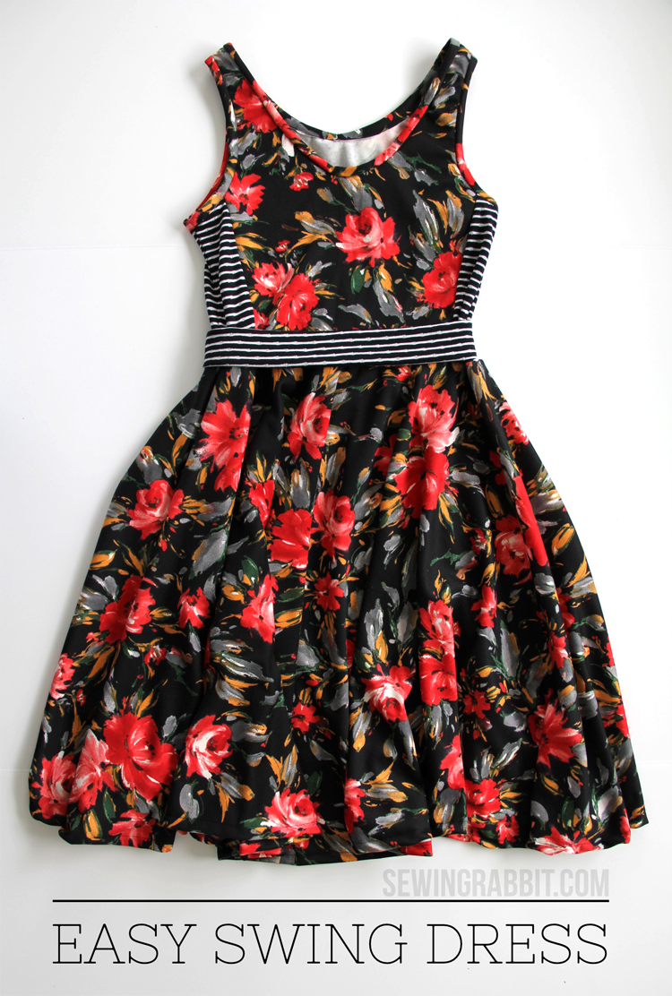 Easy swing dress diy swings sewing projects and diy clothes