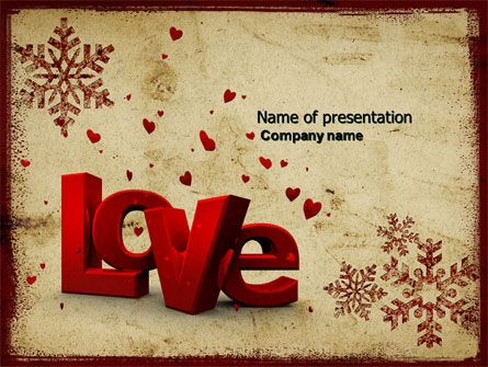 http://www.pptstar/powerpoint/template/free-christmas-love, Powerpoint templates