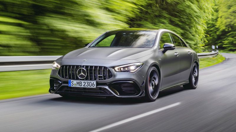 2020 Mercedes Amg Cla 45 Revealed With 382 Horsepower And Trick