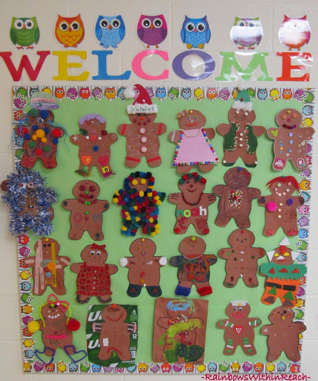 Christmas Bulletin Board Ideas Showcase Preschool Christmas