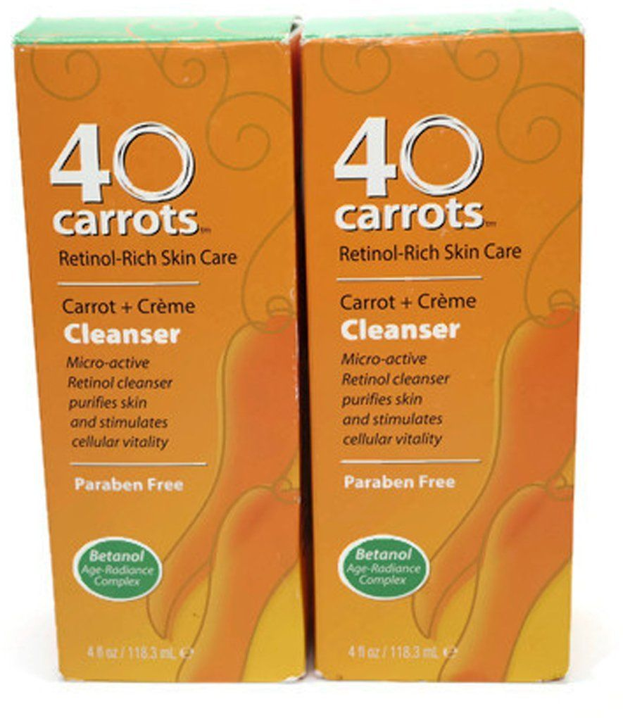 40 Carrots Cleanser 4 Oz Pack Of 2 This Is An Amazon Affiliate Link For More Information Visit I Face Cream Dry Skin Organic Face Cleansers Purify Skin