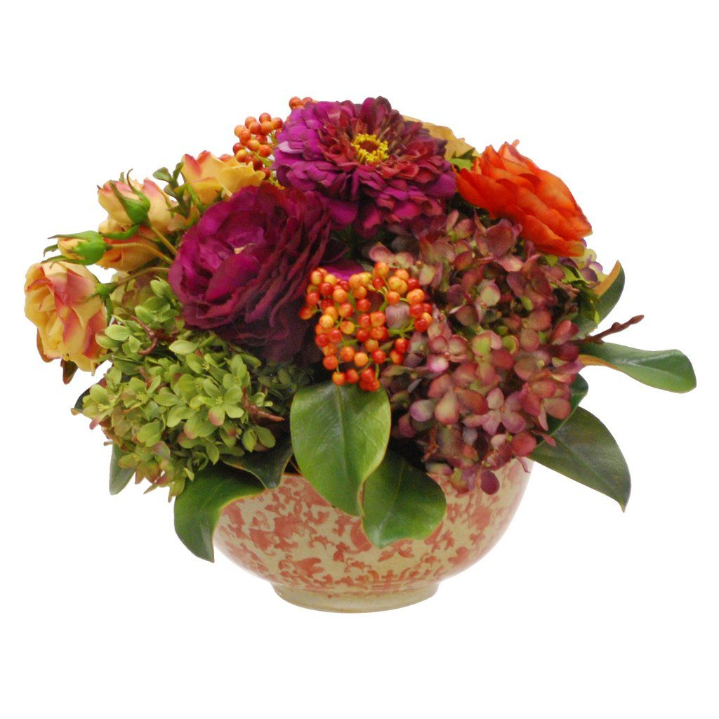 Mix Floral In Longlife Bowl Bowls Floral Arrangement And Flower