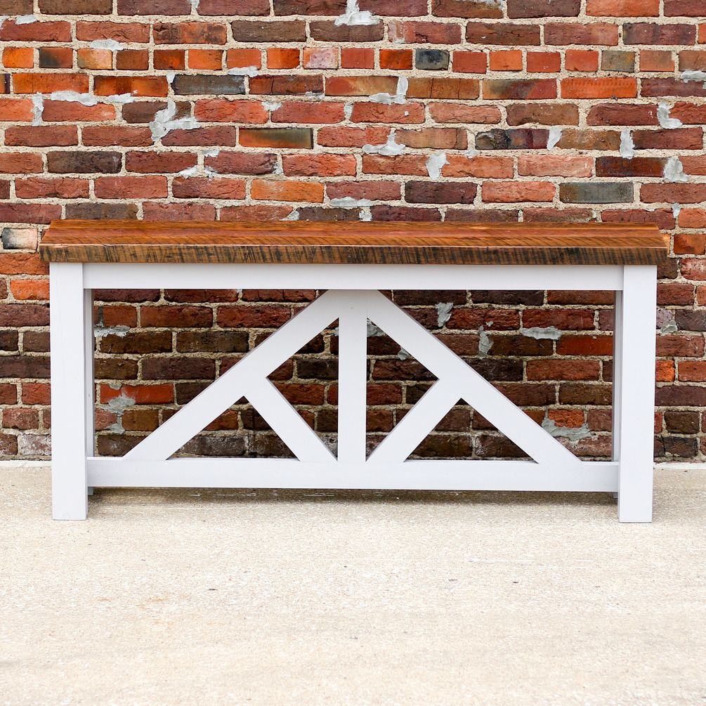 DIY Truss Sofa Table Projects to Try Diy furniture