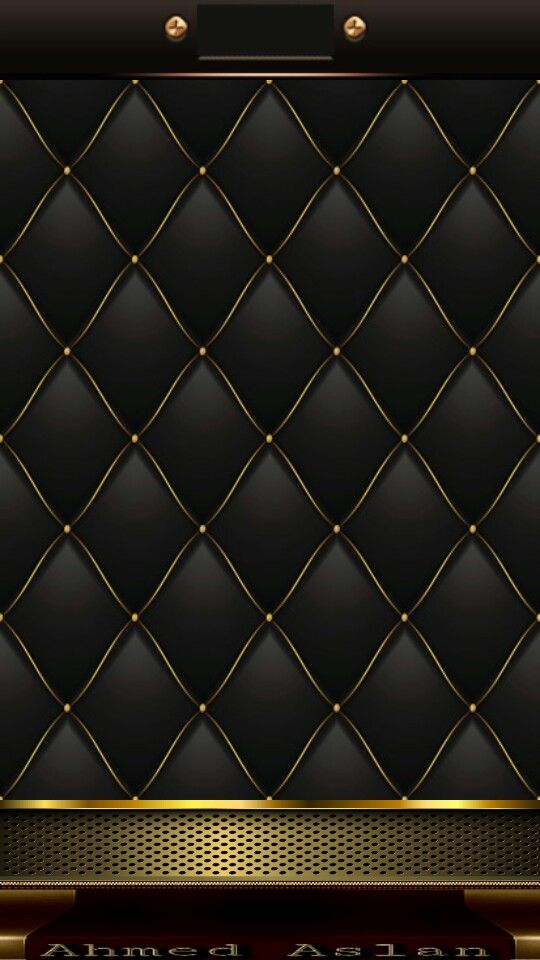 Black and gold Black Phone Wallpaper, Flowery Wallpaper, Gold Wallpaper, Locked Wallpaper,