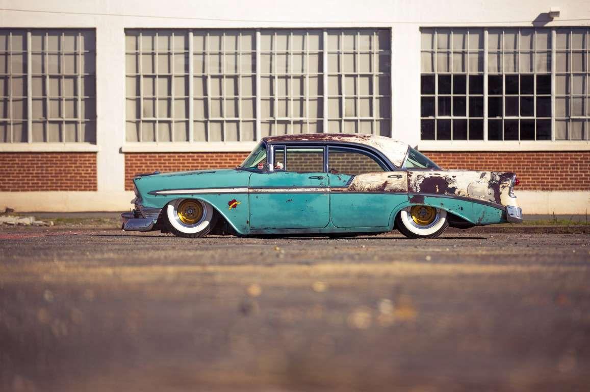 Boosted bela 1956 chevrolet bel air custom patina ls3