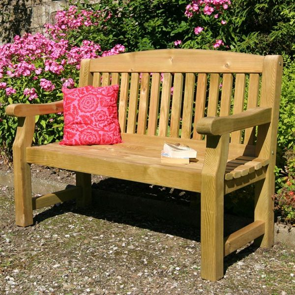 Zest4Leisure Emily Bench - 2 Seater - with cushions ...
