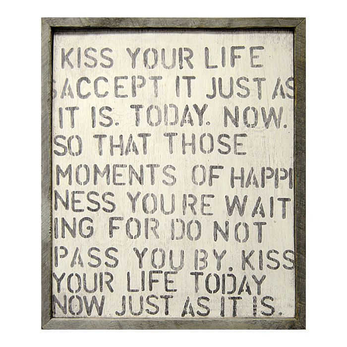 Kiss Your Life-Art That can be replicated