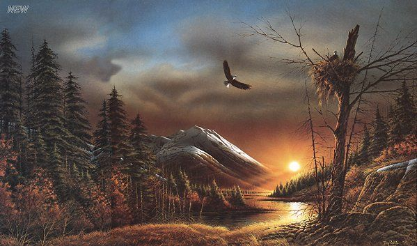 "Terry Redlin's print, ""Flying Free"" - Master Classic Prints"