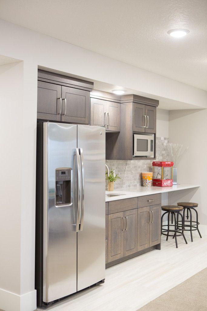 Small Basement Kitchen Kitchenettes
