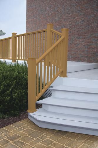 Best 6 W X 3 H Ultradeck Fusion Stair Rail Cabin Style 400 x 300