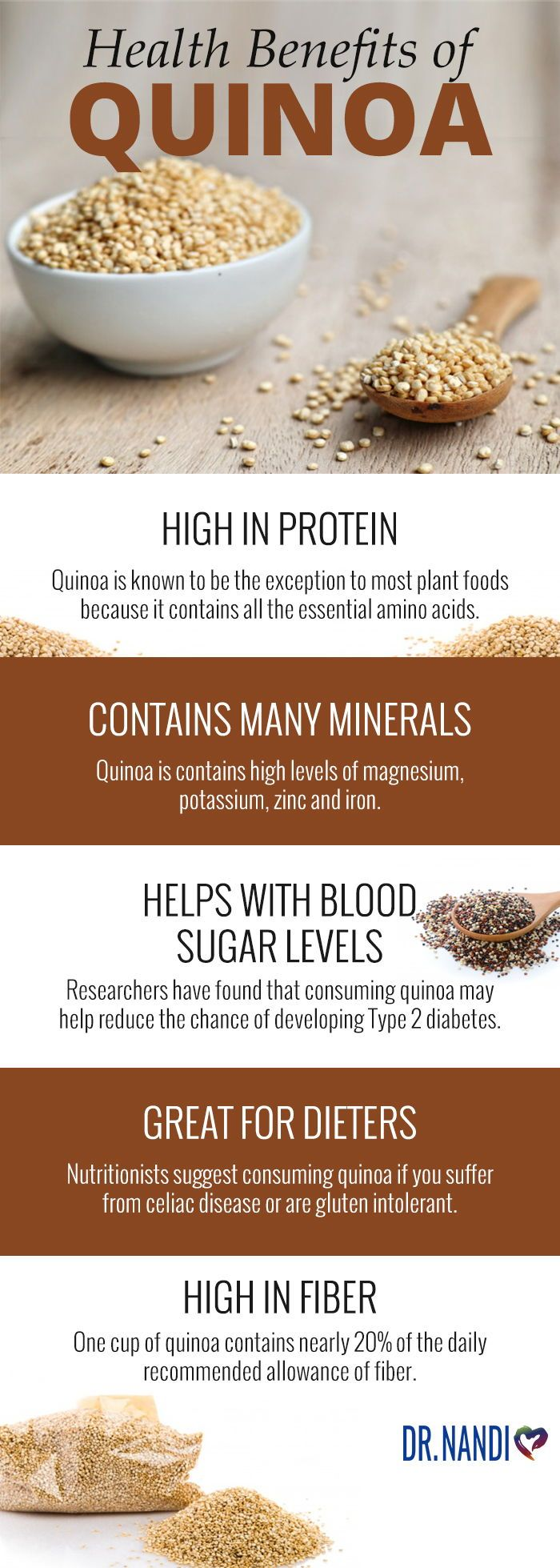 High in Fiber  Great for Dieters  Helps With Blood Sugar Levels  Contains Many Minerals  High in Protein  Health Benefits  Quinoa  Quinoa Benefits  Clean Eating  Healthy...