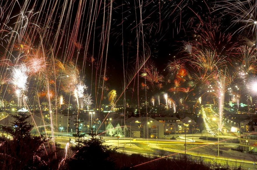 Celebrating New Year's Eve in Reykjavík, the Capital City